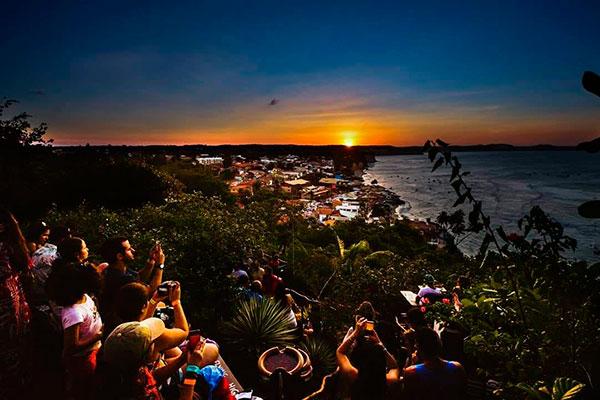 Mirante Sunset Bar: delícia viver