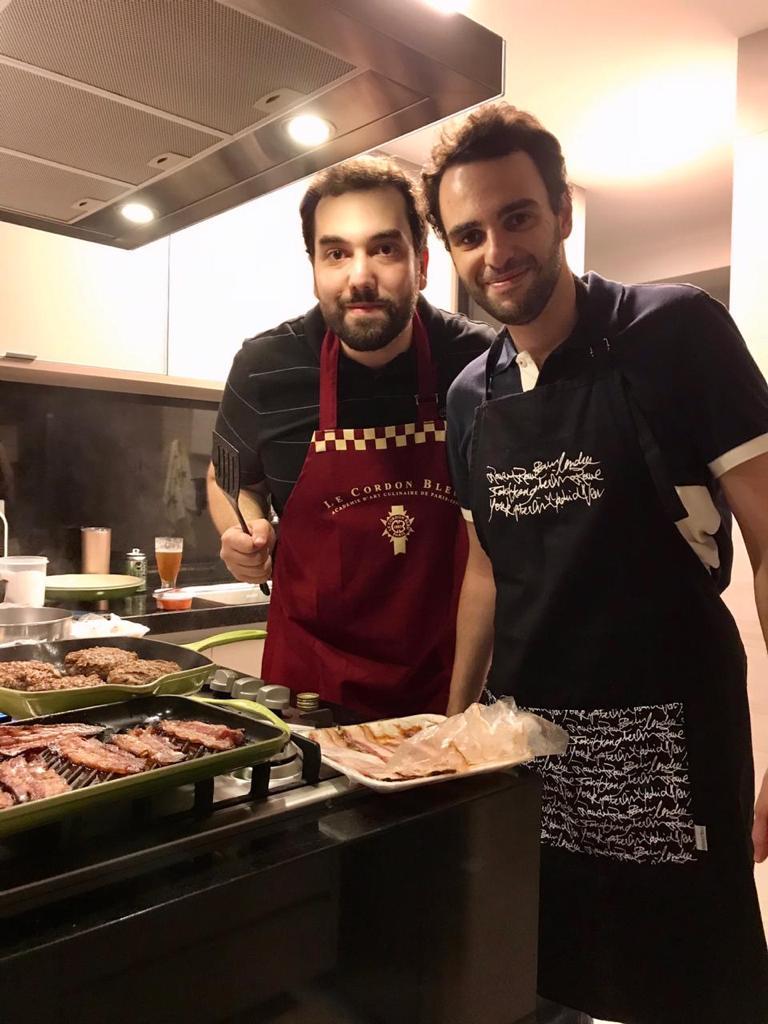 Parceiros: Otávio Bandeira com o irmão Fernando comanda o novo empreendimento