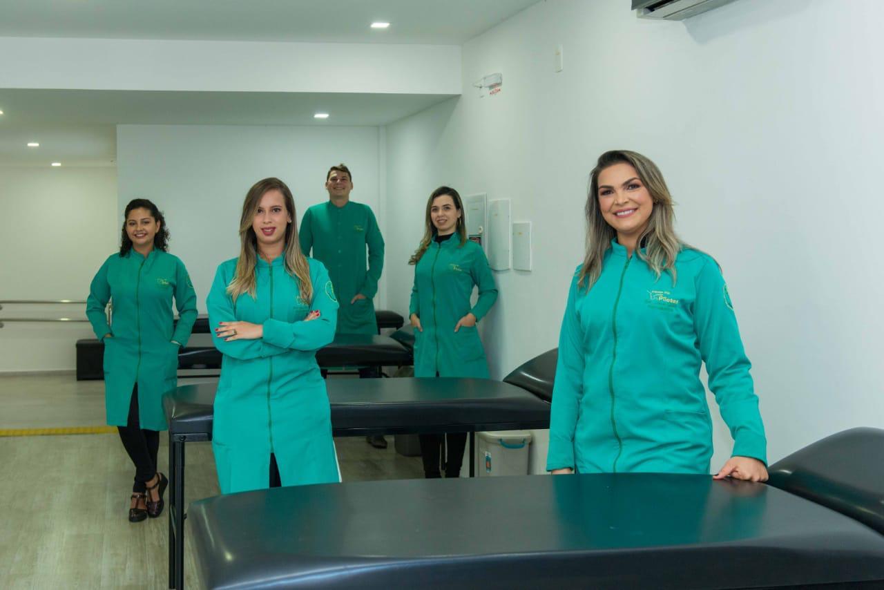 Liana Souza e equipe do Espaço VIP