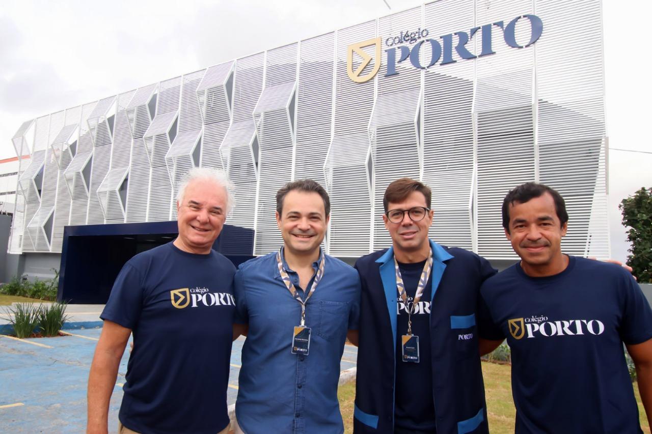 Sócios-diretores do Porto: Paulo de Paula, André Cury, Eduardo Bezerra e Marcelo Freitas
