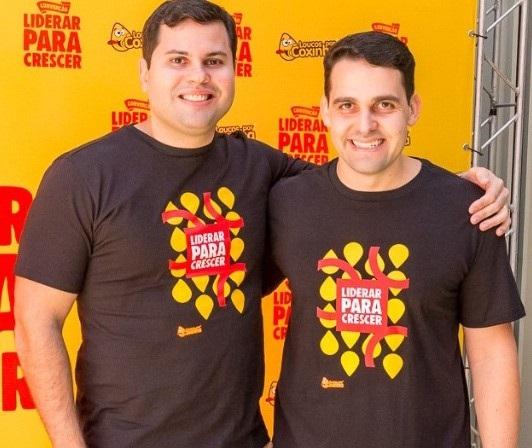 Donos de boas ideias, empresários e franqueadores Pablo Farias e Vitor Azevedo