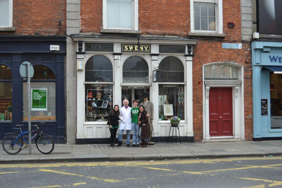 Na loja Sweny em Dublin-2012