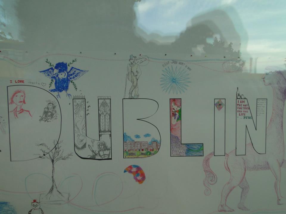 Exposição em Dublin
