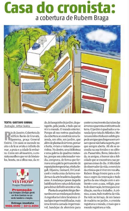 Serie Casas, para o Jornal Tribuna do Norte